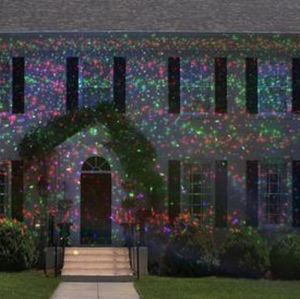 OUTDOOR 12 PATTERN HOLIDAY LASER LIGHT PROJECTOR